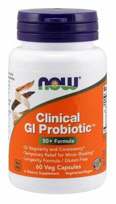Now Clinical Gi Probiotic 50+