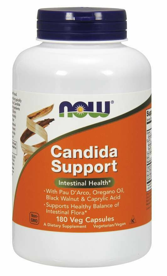 NOW Candida Support 180vcap