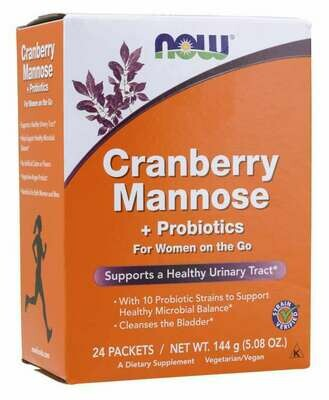 NOW Cranberry Mannose 24pack