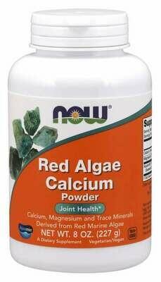 NOW Red Marine Calcium Powder 8oz