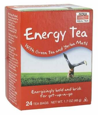 NOW Tea Energy 24ct