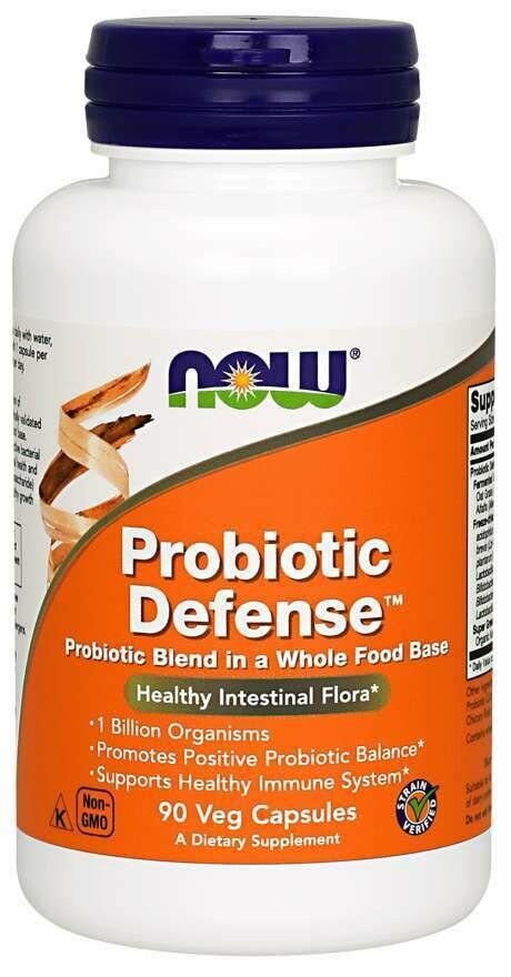 NOW Probiotic Defense 1BIL 90cap