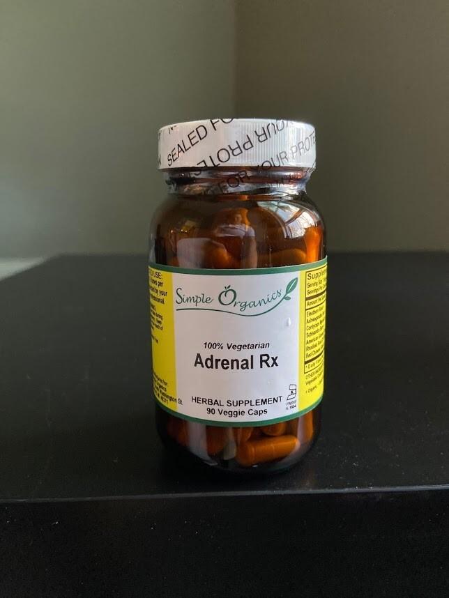 Simple Organics Adrenal RX 90cap