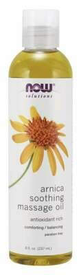 NOW Arnica Warming Relief Oil 8oz