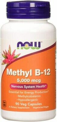 Now Metyl B12 5000mcg 90