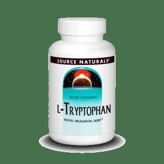 Source Naturals L Tryptophan 500mg