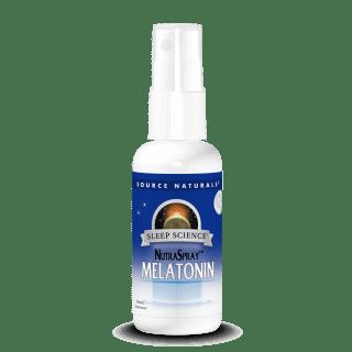 Source Naturals Melatonin Spray Choc Berry