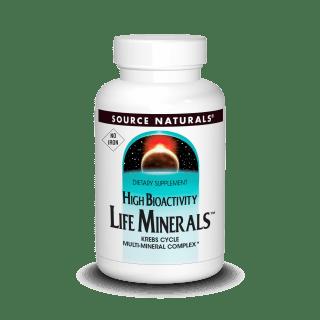 Source Naturals Life Minerals No Iron 120tab