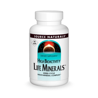Source Naturals Life Minerals No Iron 120tab