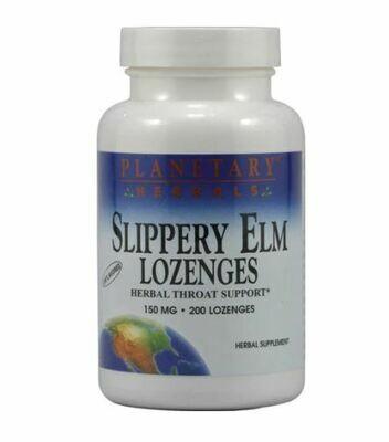 Source Naturals Slippery Elm Lozenges  24 Ct
