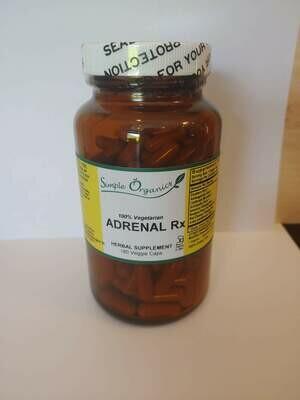 Simple Organics Adrenal RX 180vcap