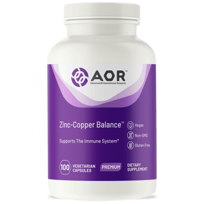Aor Zinc Copper Balance