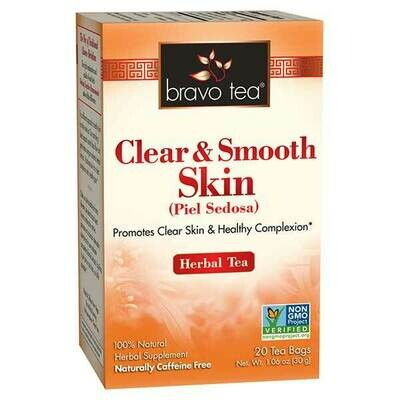 Bravo Clear And Smooth Tea 20ct