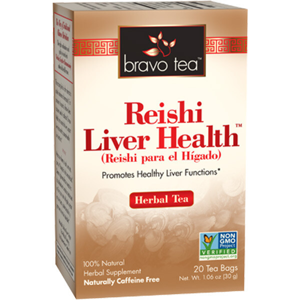 Bravo Liver Reishi Tea 20ct