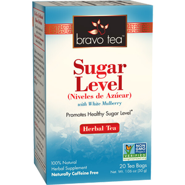 Bravo Sugar Level Tea 20ct