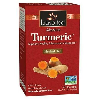 Bravo Turmeric Tea 20ct