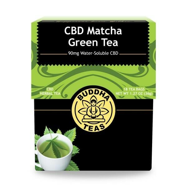 Buddha Tea CBD Green 18ct