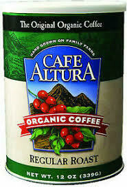 Cafe Altura Ground Regular Roast 12oz
