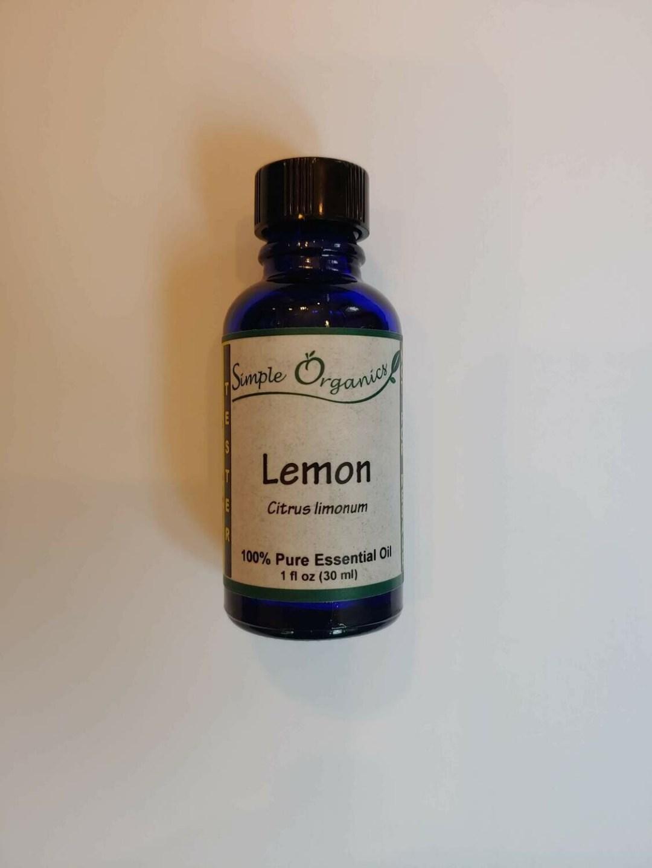 Simple Organics lemon EO 1oz