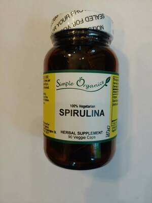 Simple Organics Spirulina 90ct