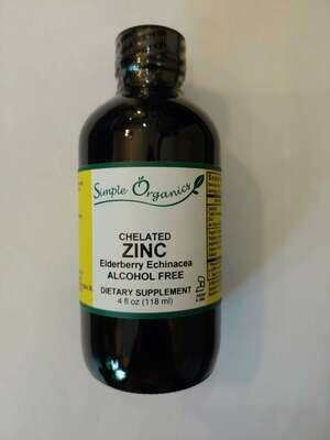 Simple Organics Zinc 4oz