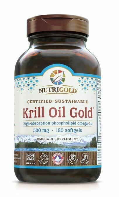 Nutrigold Krill Gold 500mg 120