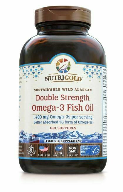 Nutrigold Double Strength Omega 3 180sgel