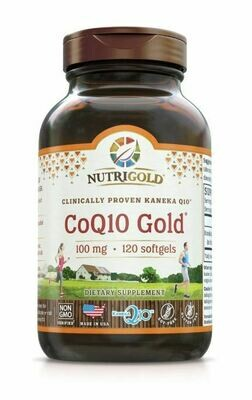 Nutrigold Coq10 Gold100mg 120sgels