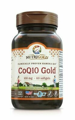 Nutrigold Coq10 Gold 100mg 60sgels