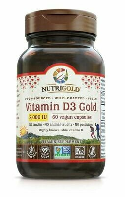 Nutrigold D3 2000 60sgel
