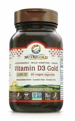 Nutrigold D3 Gold 1000IU 60cap