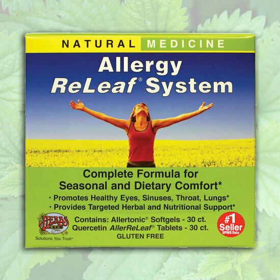 Herbs Etc. Allergy Releaf 30gel/30tab