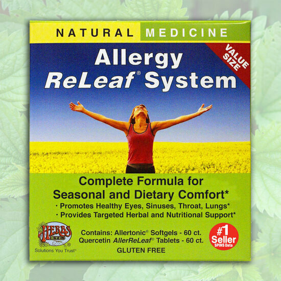 Herbs Etc. Allergy Releaf 60gel/60tab