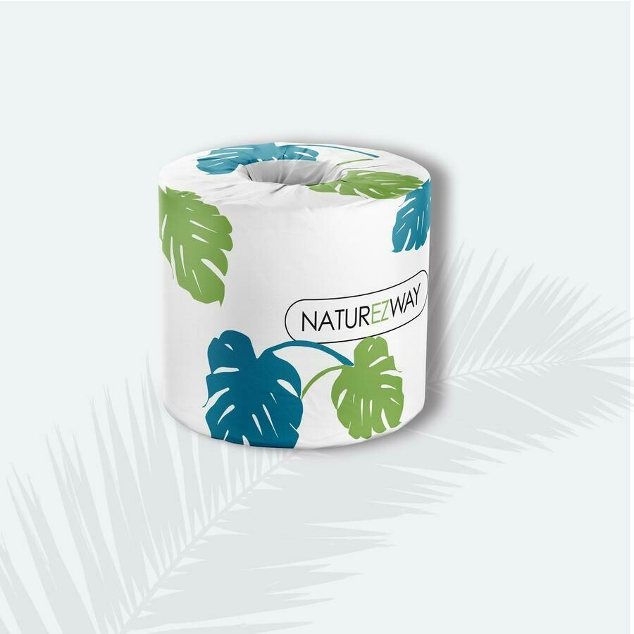 NatureZway Bamboo Bath Tissue 6 Rolls 400 Sheets
