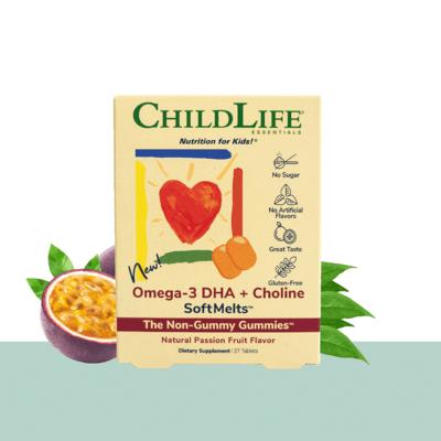 ChildLife Omega-3 DHA SoftMelts