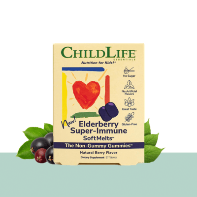 ChildLife Sup Immune Softmelt Elderberry