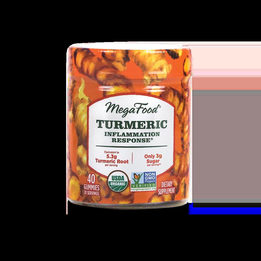Megafood Turmeric Gummies 40 Count