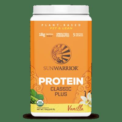 Sunwarrior Classic Vanilla Protein Plus 750g
