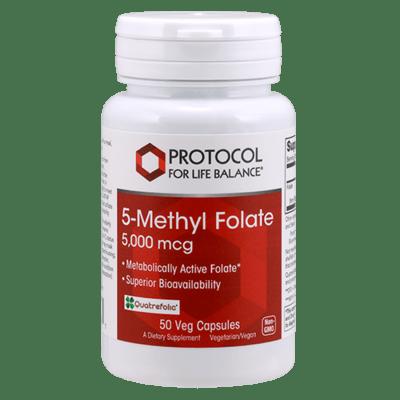 Protocol 5 Methyl Folate 5000mcg 50vcap