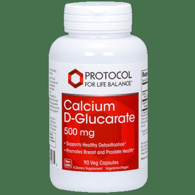 Protocol Calcium D Glucarate 500mg 90vcap