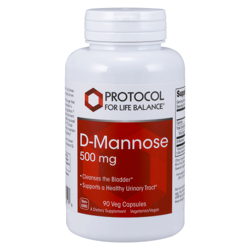 Protocol  Dmannose 500mg  90cap