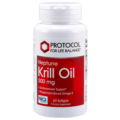 Protocol  for life balance Krill Oil