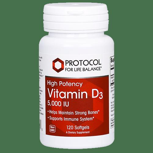 Protocol Vit D3 5000IU 120sgel