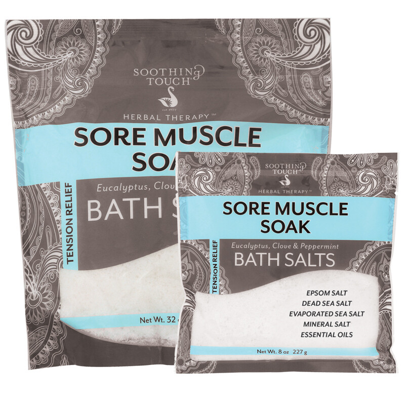 Soothing Touch Sore Muscle Soak Bath Salts