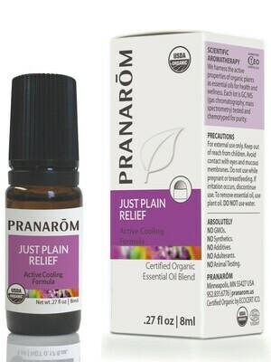 Pranarom Just Plain Relief Rollon 8ml