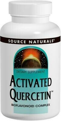 Activated Quercetin 50 Tabs Source Naturals