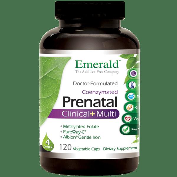 Emerald Prenatal Clinical+Multi 120 Vcap
