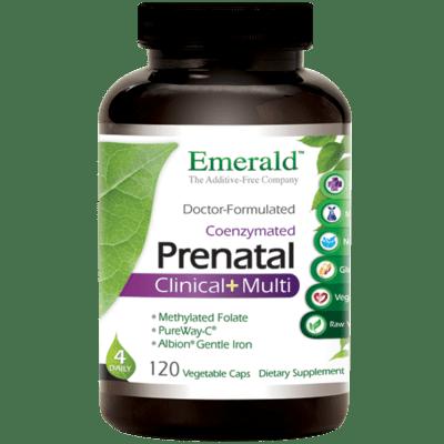 Emerald Labs Prenatal Clinical+Multi 120 Vcap