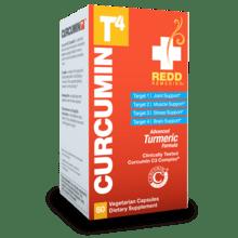 ReddRemedies Curcumin T4 Pain 60cap