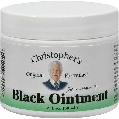 Dr. Christopher's Black Ointment 2oz